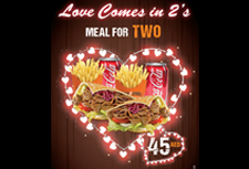 Love Comes in 2's