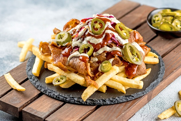 Dönermite Fries with Soda or water